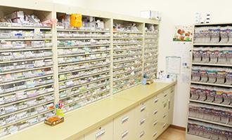 野間薬局 国分店 調剤室